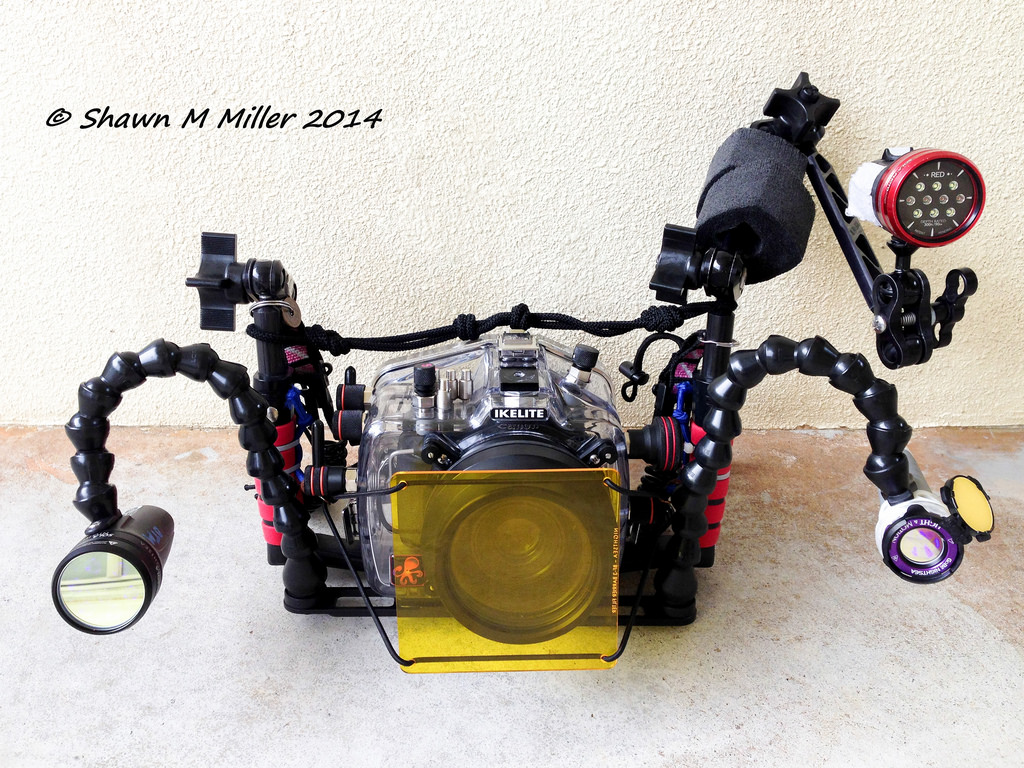 Dive Team Miller- Underwater rig