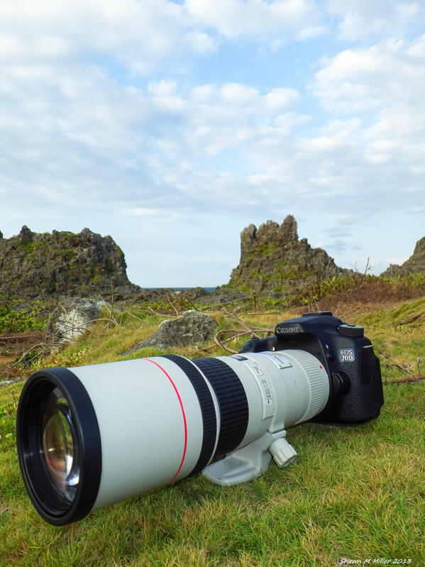 Canon 70d with 400mm f/5.6L USM Lens