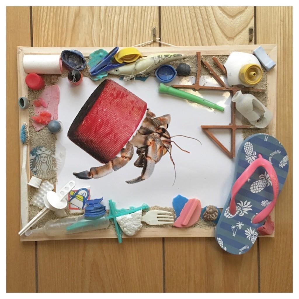 Kirana's school project