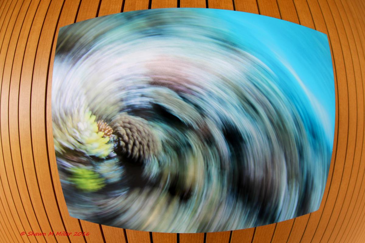 Typhoon swirl -
