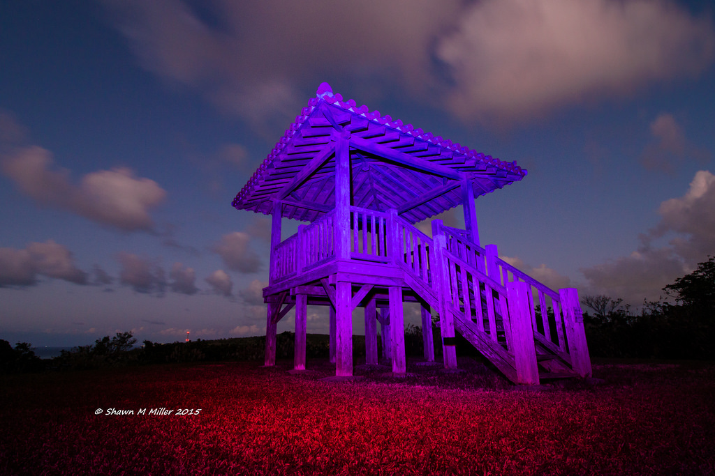 Light-painting Okinawa